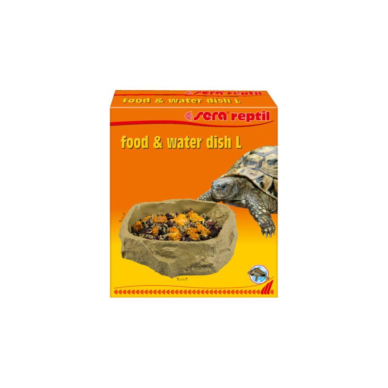 Миска SERA REPTIL FOOD+WATER DISH L для корма рептилий