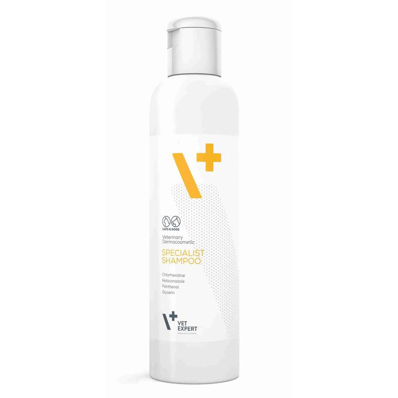 VetExpert (ВетЭксперт) Specialist Shampoo Антибактериальный - противогрибковый шампунь для собак и кошек
