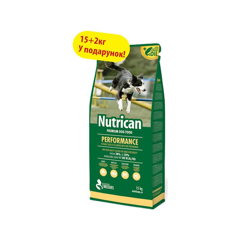 Nutrican (Нутрикан) PERFORMANCE  - корм для активных собак