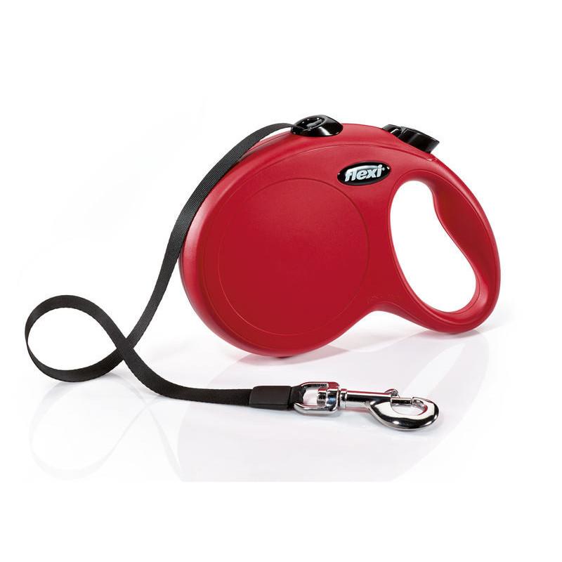 Flexi (Флекси) New Classic L - Поводок-рулетка для собак, лента (8 м, до 50 кг)