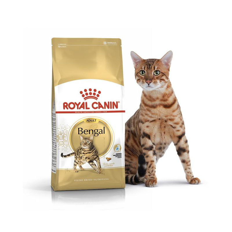 Royal Canin (Роял Канин) Bengal Adult - Сухой корм с птицей для кошек бенгальской породы