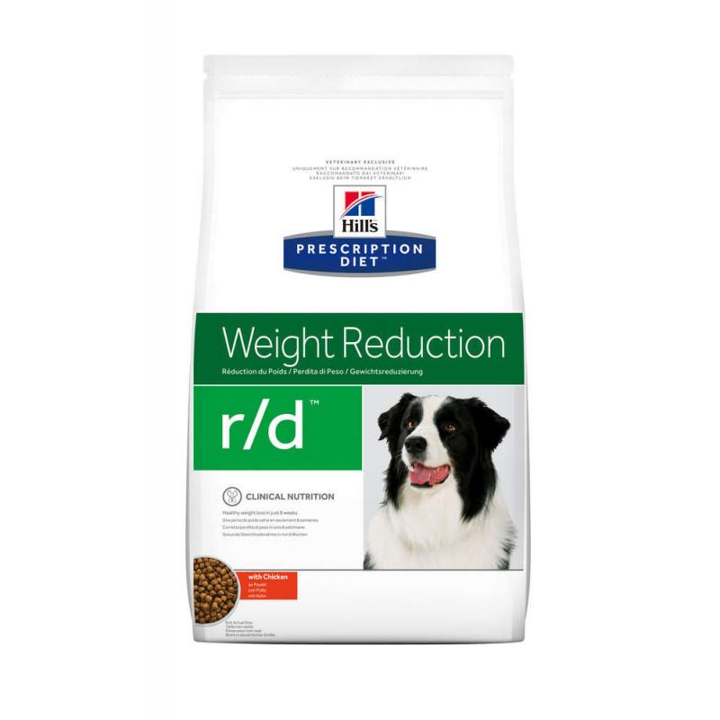 Hill's (Хиллс) Prescription Diet r/d Weight Reduction - Корм-диета для собак курицей СНИЖЕНИЕ ВЕСА