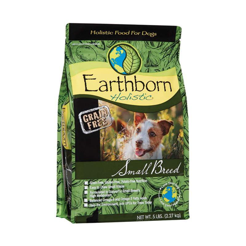 Earthborn Holistic (Эрсборн Холистик) Dog Small Breed - Сухой беззерновой корм с курицей и белой рыбой для взрослых собак мелких пород