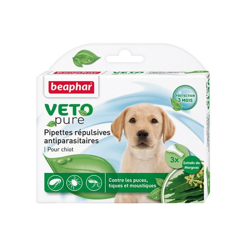 Beaphar (Биафар) Bio Spot On Puppy - Натуральные противопаразитарные капли для щенков