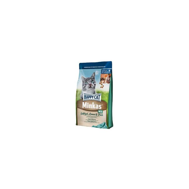 Happy Cat Minkas Mix - сухой корм для взрослых кошек
