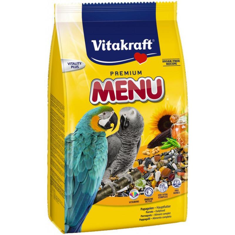 Корм VITACRAFT Ara Menu для крупных попугаев