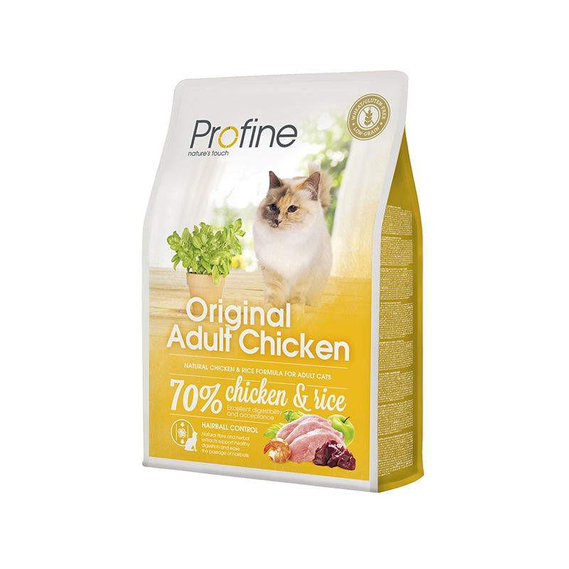 Profine (Профайн) Cat Original Adult - Сухой полноценный корм с курицей для котов и кошек