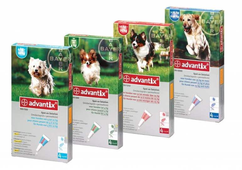 Advantix (Адвантикс) by Bayer Animal - Капли от блох и клещей для собак (1 пипетка) - Фото 13