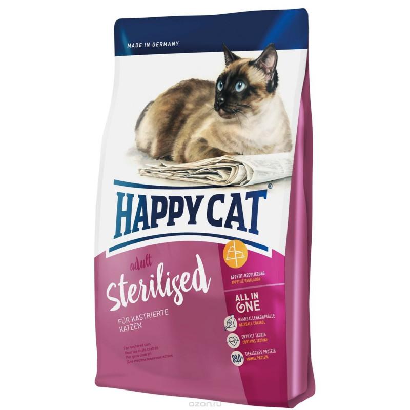 Happy Cat Adult Sterilised- сухой корм для стерилизованных котов