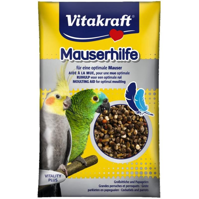 Витаминная добавка VITACRAFT MAUSERHILFE в период линьки для больших и средних попугаев