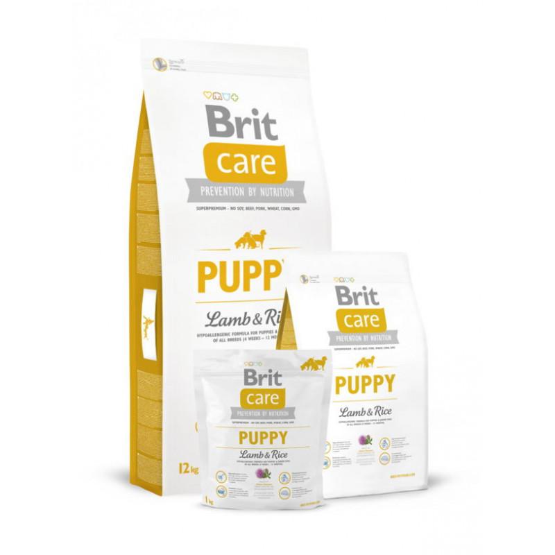 Brit Care (Брит Кеа) Puppy Lamb & Rice - Сухой корм для щенков всех пород с ягненком и рисом