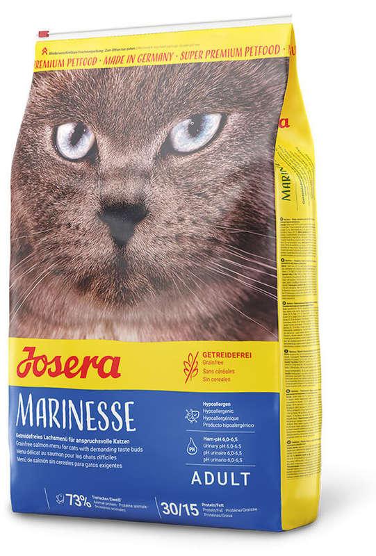 Josera (Йозера) Marinesse - Сухой корм с лососем для котов, страдающих пищевой непереносимостью
