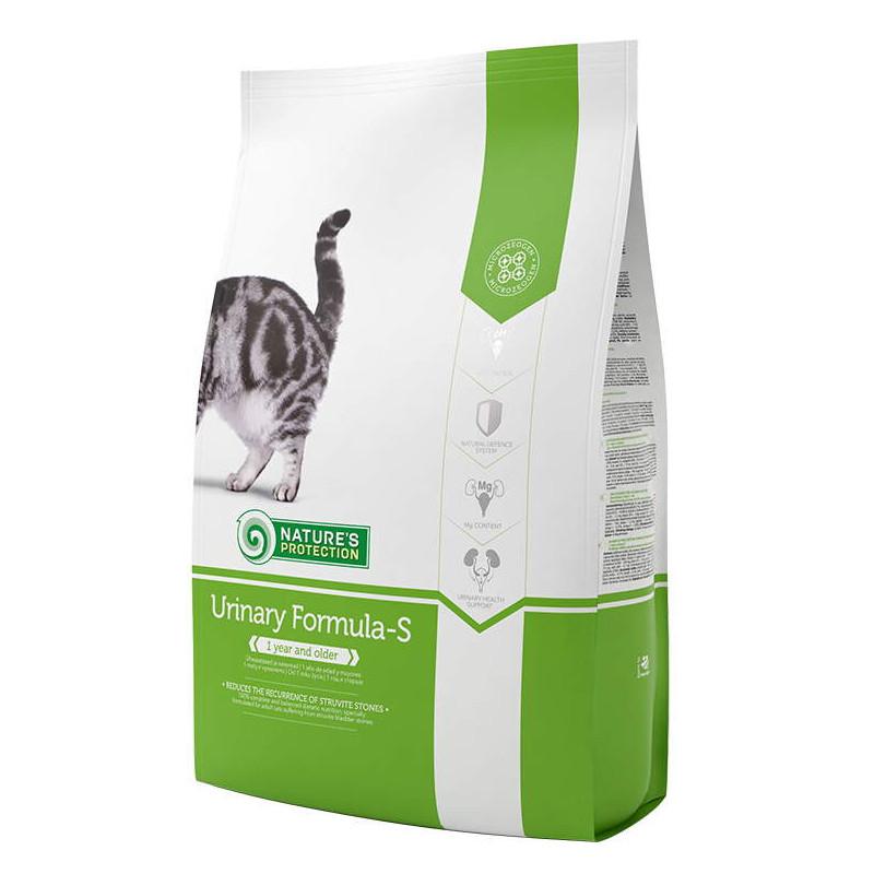 Nature's Protection (Нейчерес Протекшн) Urinary Formula-S. Сухой корм с птицей для поддержания здоровья мочеполовой системы котов