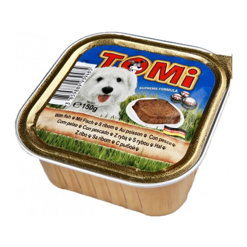 TOMi fish паштет для взрослых собак