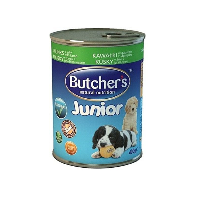 Butcher`s Basic Junior ЯГНЕНОК - консервы для щенков и молодых собак