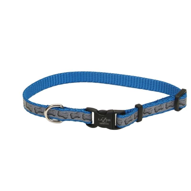 Ошейник Coastal Lazer свето-отражающий  для собак, 2,5смХ45-71см