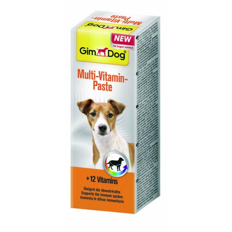 GimDog (ДжимДог) Multi-Vitamin - Мультивитаминная паста для собак