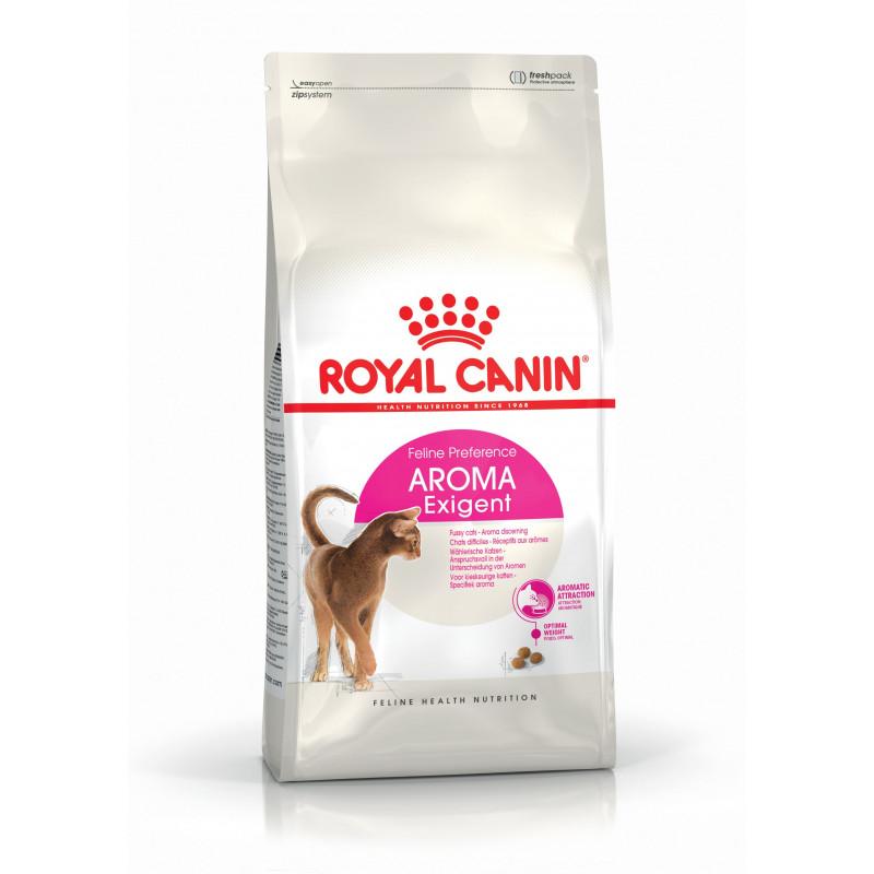 Royal Canin (Роял Канин) Exigent Aromatic. Сухой корм с рыбой для кошек, привередливых к аромату продукта