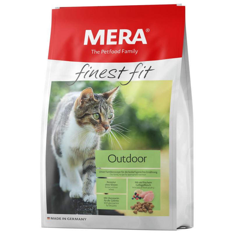 Mera (Мера) Finest fit Outdoor - Сухой корм с курицей для активных кошек