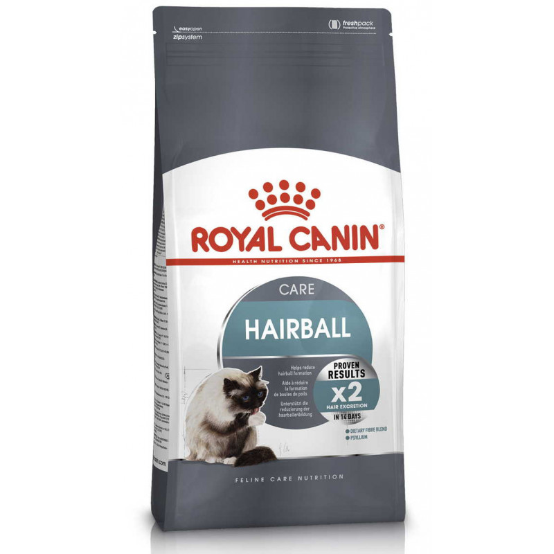 Royal Canin (Роял Канин) Hairball Care - Сухой корм с птицей для интенсивного выведения комочков шерсти у котов