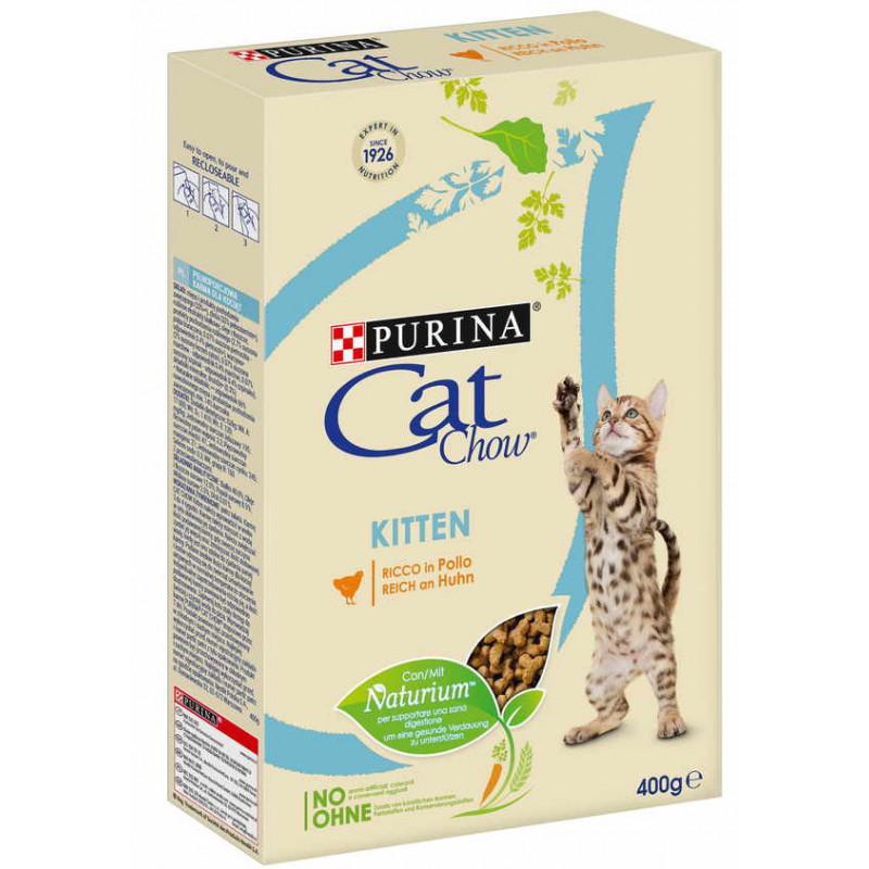 Cat Chow (Кэт Чау) Kitten - Сухой полнорационный корм с курицей для котят