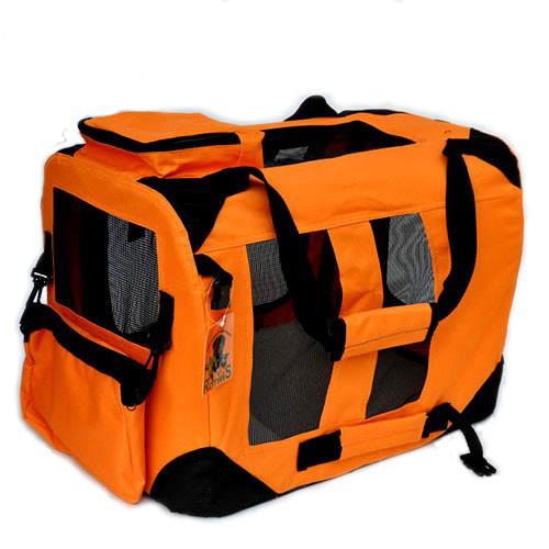 Бокс-переноска каркасная Lux (Оранжевый) - Фото 2