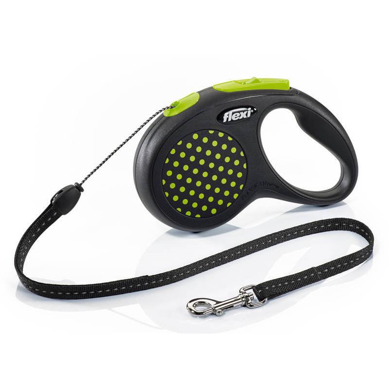 Flexi (Флекси) Design S - Поводок-рулетка для собак мелких пород, трос ( 5 м, до 12 кг)