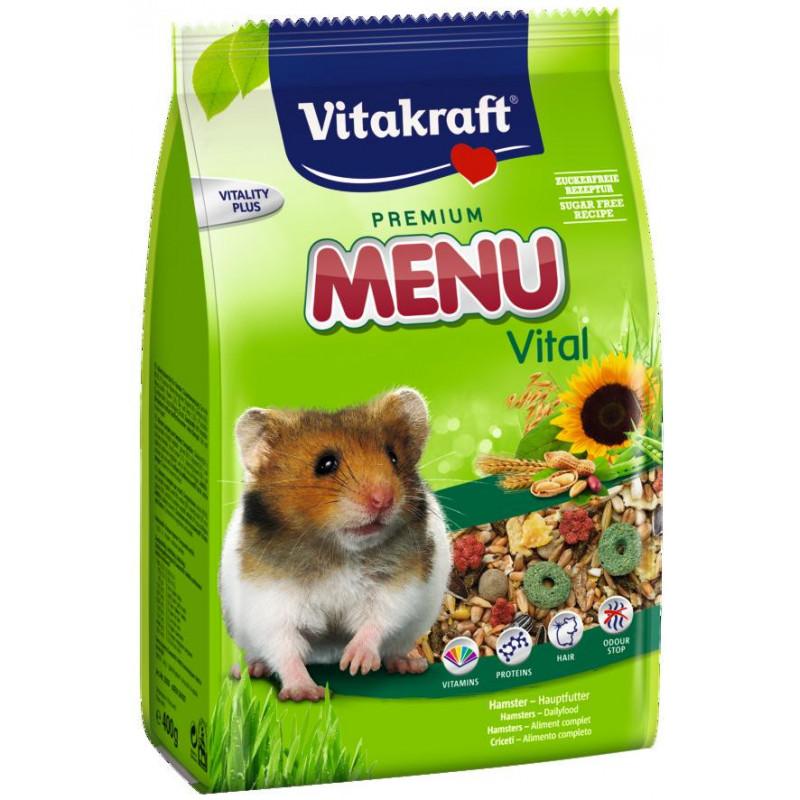 Корм VITACRAFT MENU VITAL для хомячков