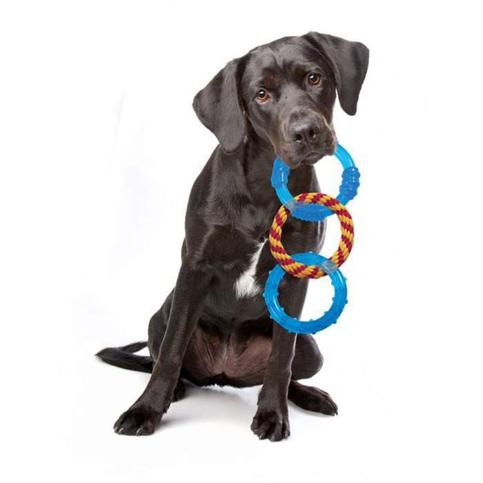 """Petstages (Петстейдж) Orka Dental Links - Игрушка для собак """"Орка кольца для зубов"""" - Фото 2"""