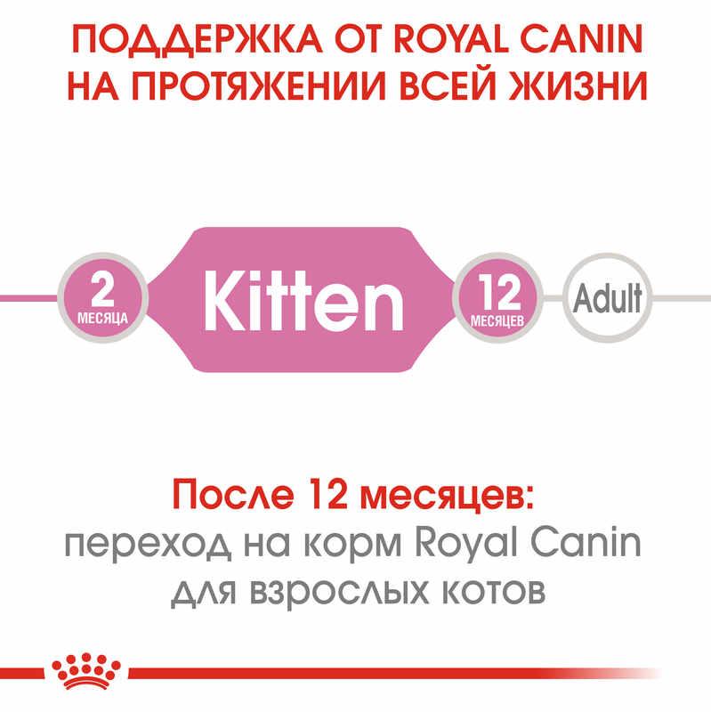 Royal Canin (Роял Канин) Kitten - Сухой корм с птицей для котят до 12 мес - Фото 4