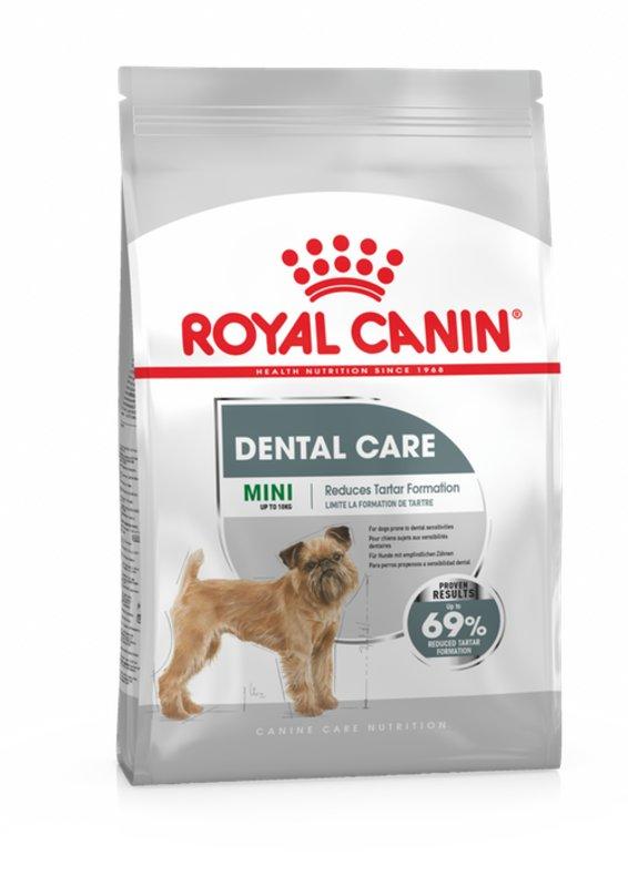 Royal Canin (Роял Канин) Mini Dental Care - Сухой корм для собак малых пород с повышенной чувствительностью зубов