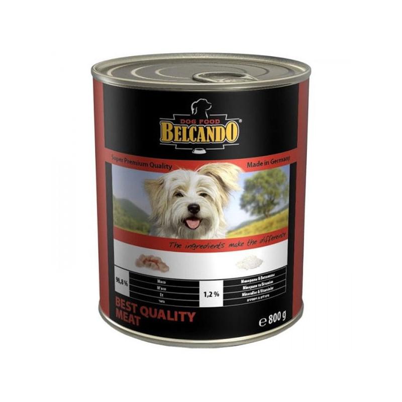Belcando (Белькандо) - Консервированный суперпремиальный корм с отборным мясом для собак всех возрастов