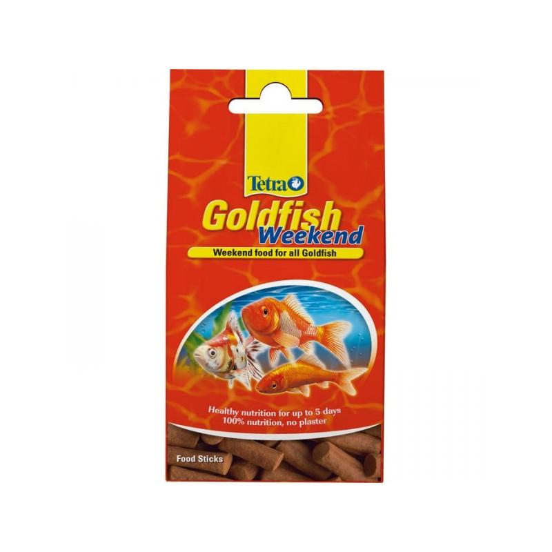Корм TETRA GOLDFISH WEEKEND для золотых рыбок в палочках