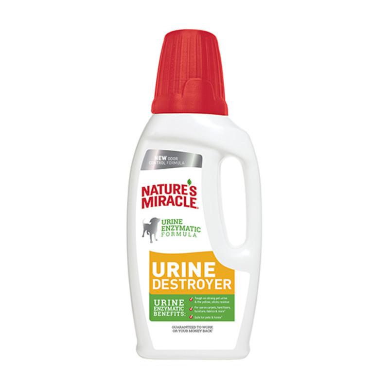 Nature's Miracle (Нейчерс Миракл) Urine Destroyer Уничтожитель пятен и запахов мочи собак