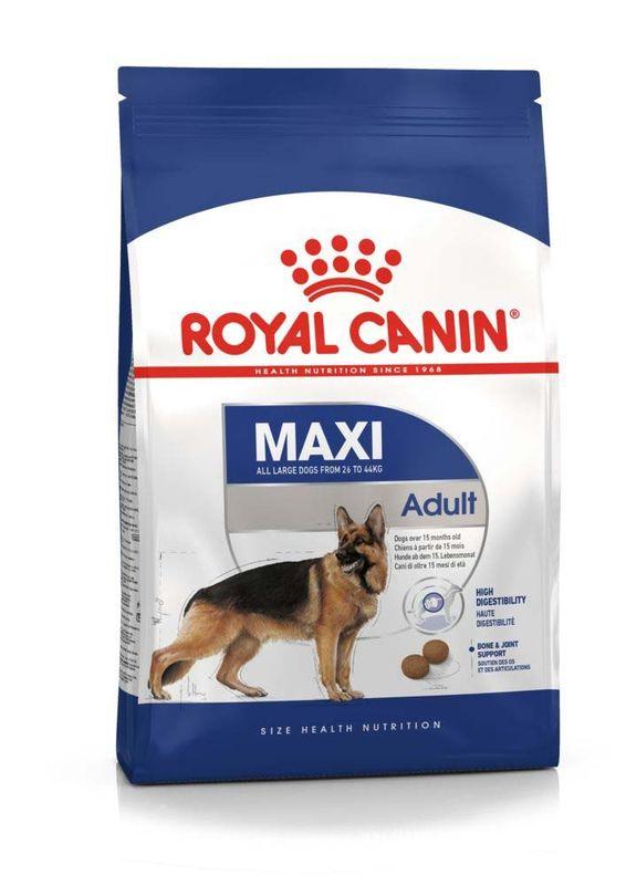 Royal Canin (Роял Канин) Maxi Adult - Корм сбалансированный для взрослых собак крупных пород
