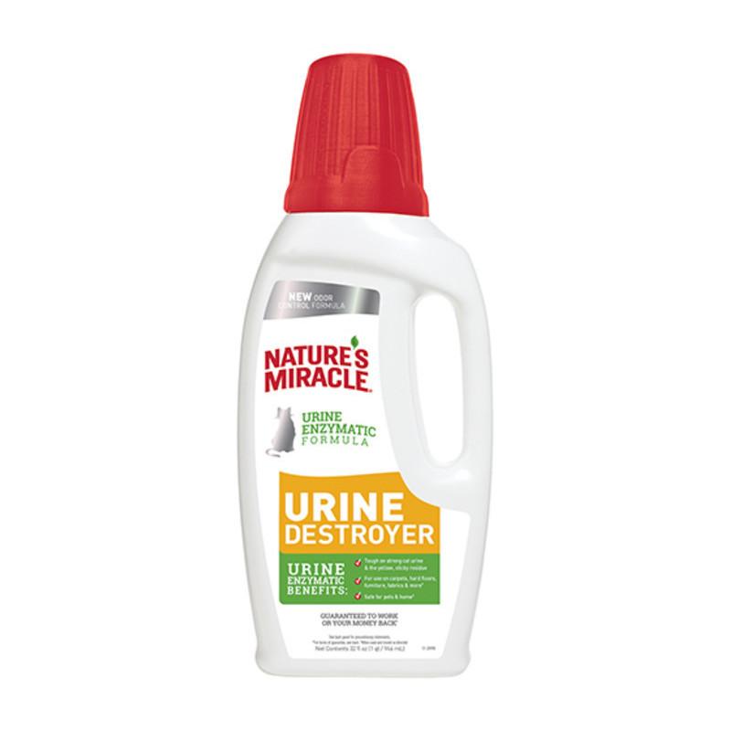 Nature's Miracle (Нейчерс Миракл) Urine Destroyer Уничтожитель пятен и запахов мочи кошек