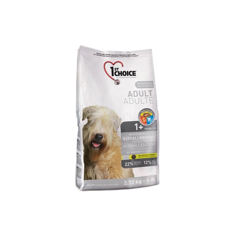 1st Choice (Фест Чойс) Hypoallergic - Сухой гипоаллергенный корм с уткой для взрослых собак