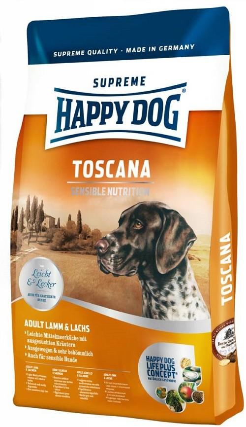 Happy Dog (Хеппи Дог) Supreme Sensible Toscana - Сухой корм для взрослых собак с уткой и лососем - Фото 2
