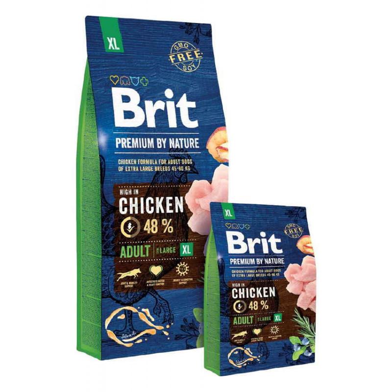 Корм Brit Premium by Nature (Брит Премиум) ADULT XL для взрослых собак гигантских пород