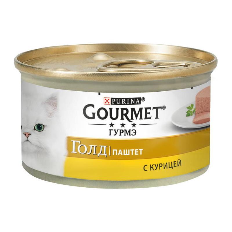 Gourmet Gold (Гурмэ Голд) - Консервированный корм с курицей для взрослых кошек