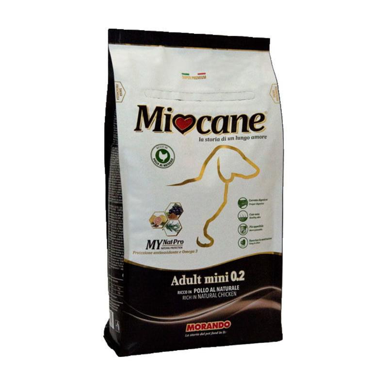 Morando (Морандо) Miocane Adult Mini 0 - 2 - Корм сухой для взрослых собак мелких пород с курицей
