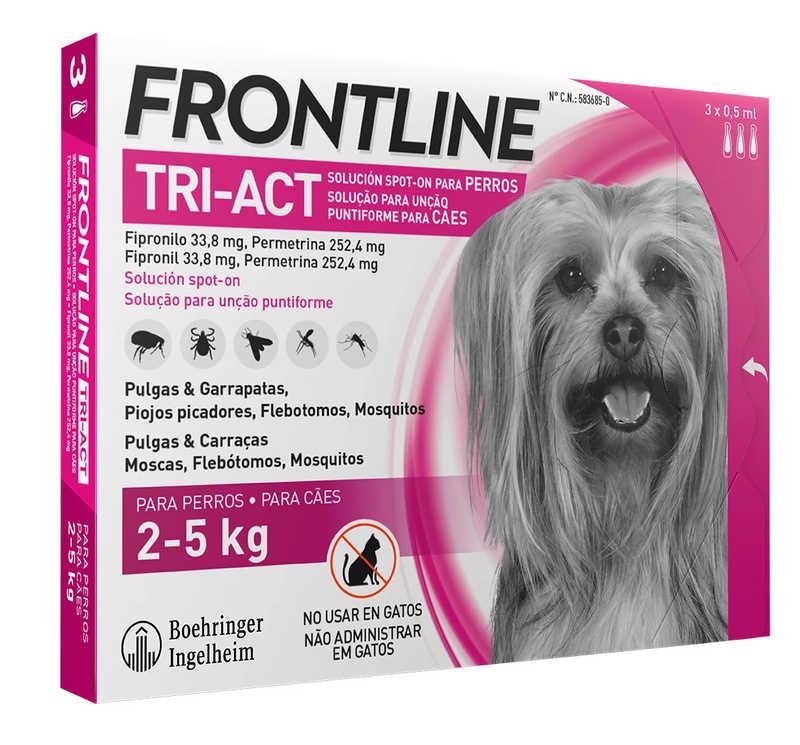 Frontline Tri-Act (Фронтлайн Три-Акт) by Merial. Противопаразитарный препарат от блох, вшей, клещей и комаров для собак - Фото 11