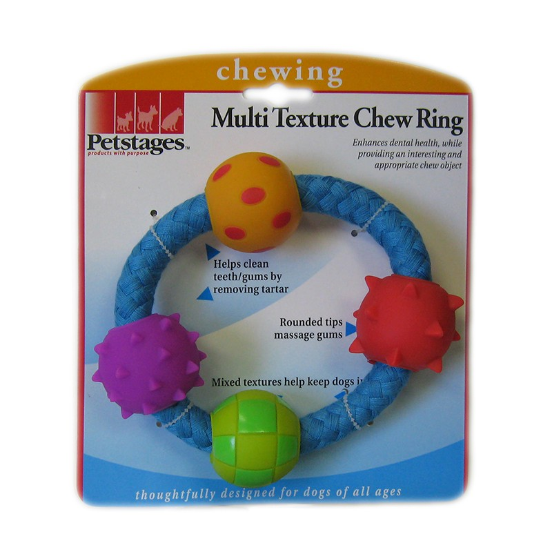 Petstages (Петстейдж) Multi Texture Chew Ring - Игрушка для собак