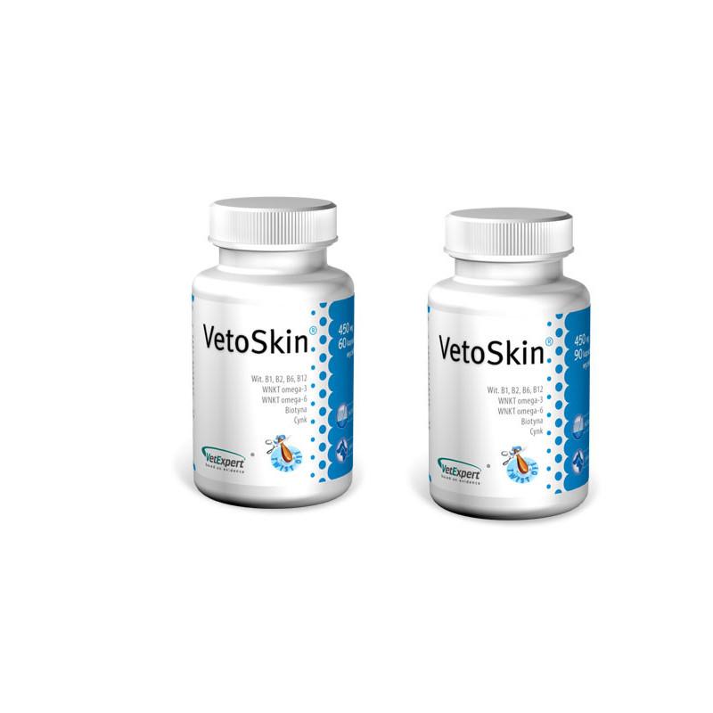 VetExpert (ВетЭксперт) VetoSkin Пищевая добавка для здоровья кожи и шерсти кошек и собак