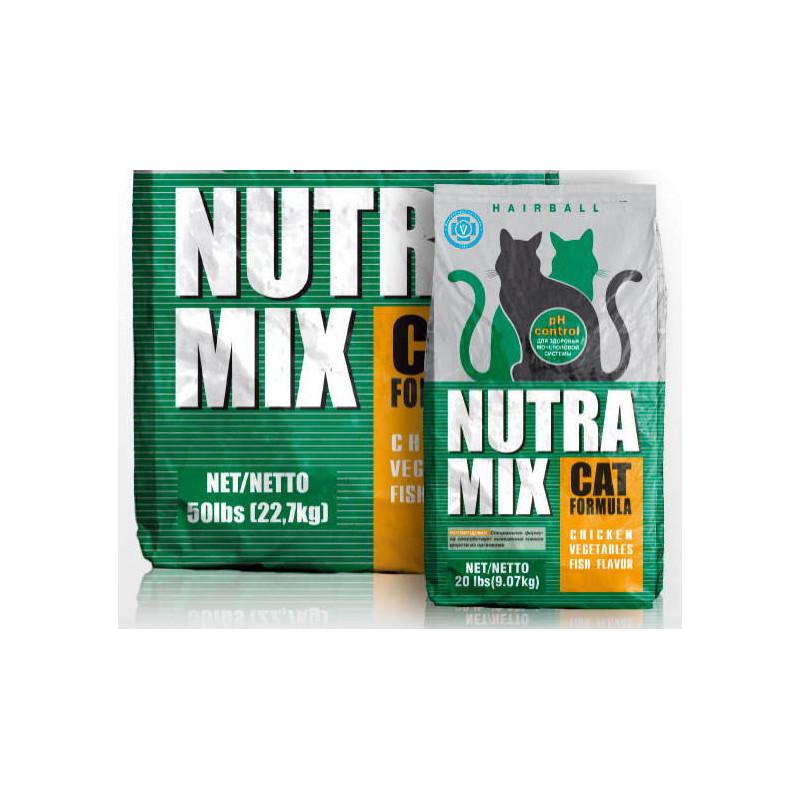 Nutra Mix (Нутра Микс) Hairball Formula - Сухой корм с курятиной, овощами и рыбой для кошек