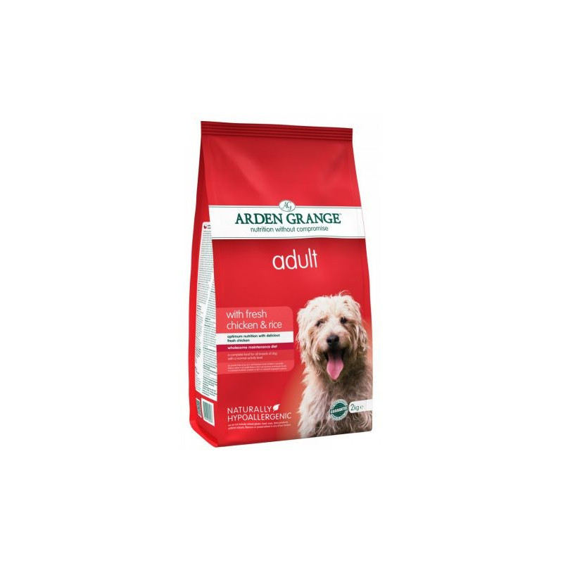 Arden Grange Adult Корм для взрослых собак с курицей и рисом