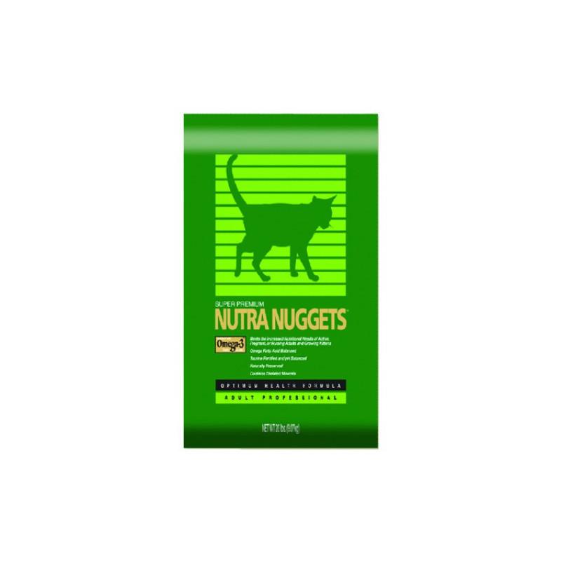 Nutra Nuggets (Нутра Нагетс) Indoor Hairball Control for Cats - Сухой корм с курицей для предотвращения появления комочков шерсти у домашних котов