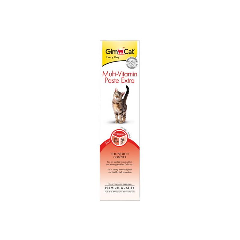 GimCat Multi-Vitamin Paste EXTRA  - мультивитаминная паста с жирными кислотами для котов