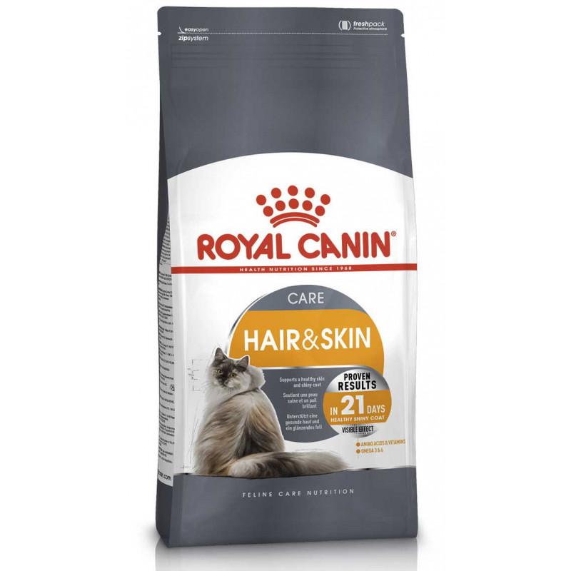 Royal Canin (Роял Канин) Hair & Skin Care - Сухой корм с курицей для кошек с проблемной шерстью