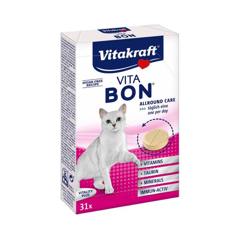 Vitakraft Vita-Bon Vitality Adult Cat мультивитаминный комплекс для котов